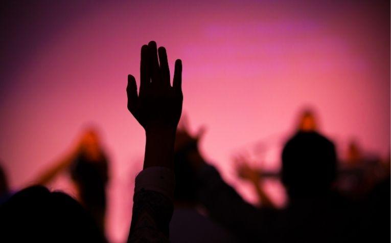 Assemblies of God chruch service