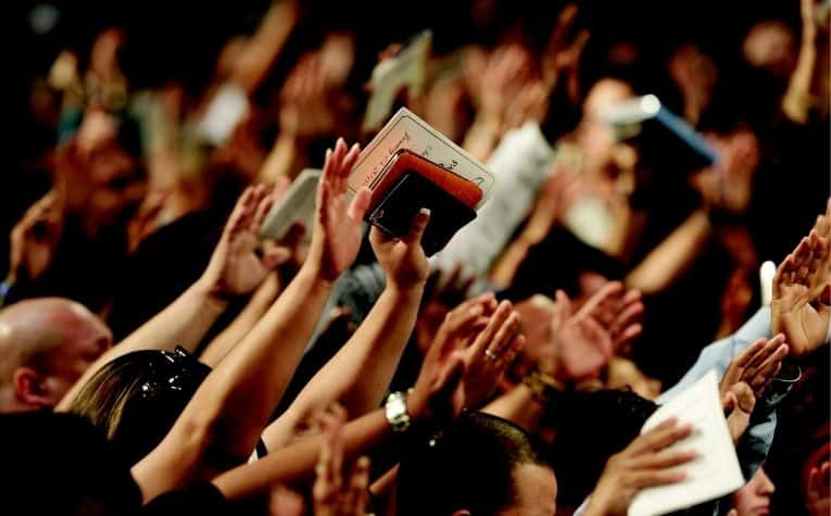 Assemblies of God worship service