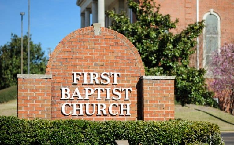Baptist Christian church