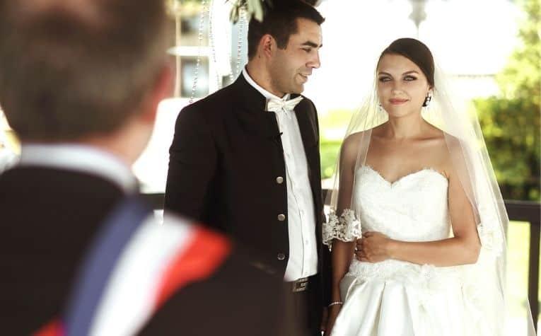 Lutheran minister wedding