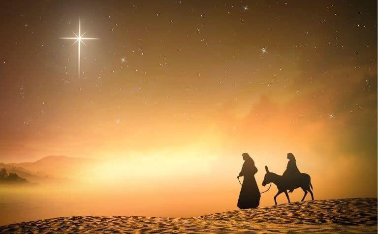 Mary Joseph and Jesus