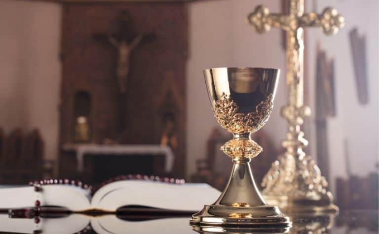Catholic bread and cup