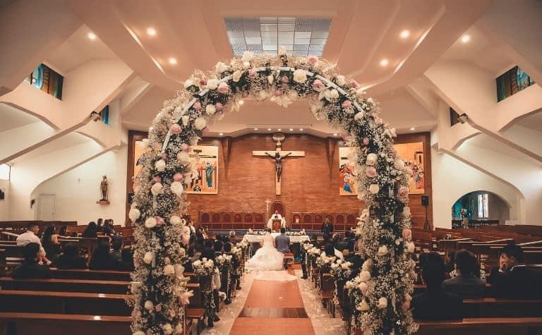 Methodist church wedding