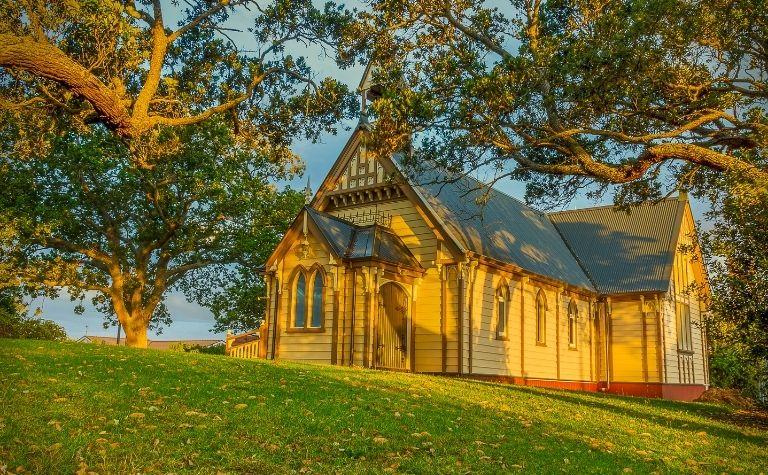 Rural Presbyterian church