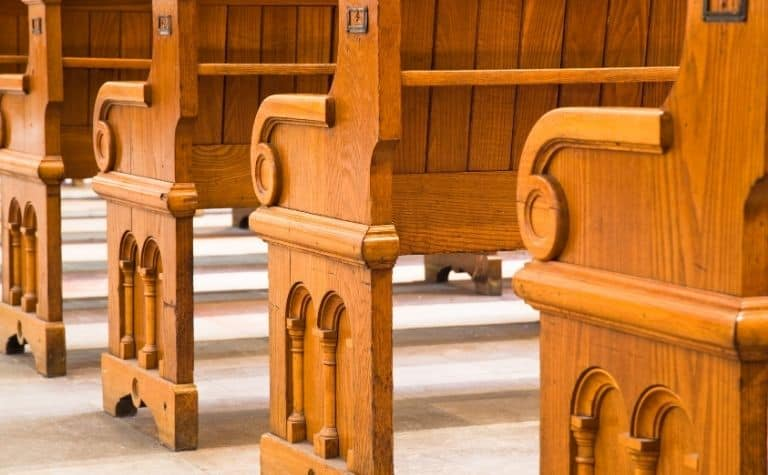 Presbyterian church pews