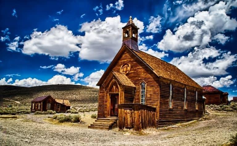Rural Methodist church