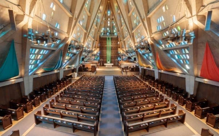 Methodist church sanctuary