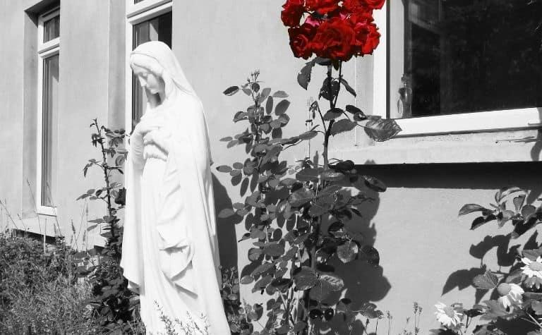 Mary statue