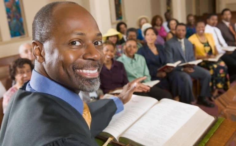 Methodist church pastor