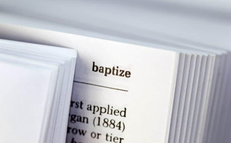 Christian denominations baptism