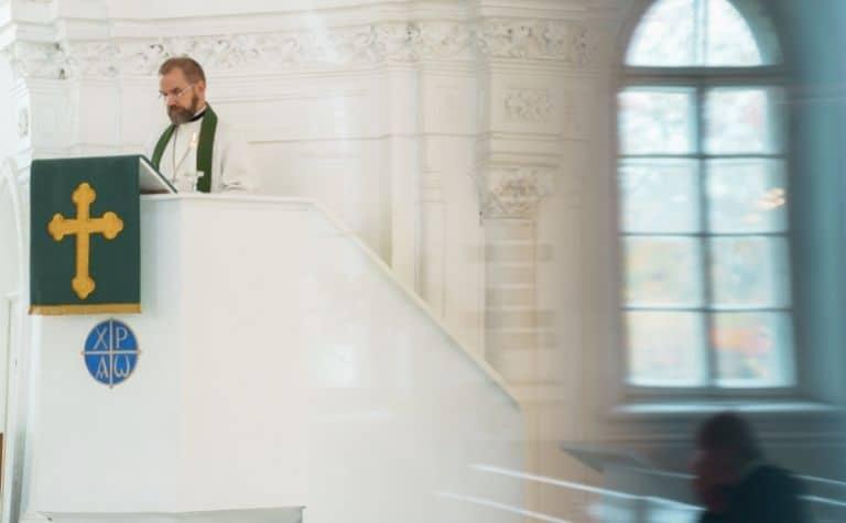 Lutheran church minister