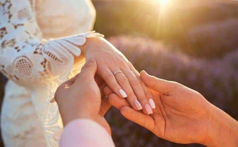 Catholic Protestant bride groom