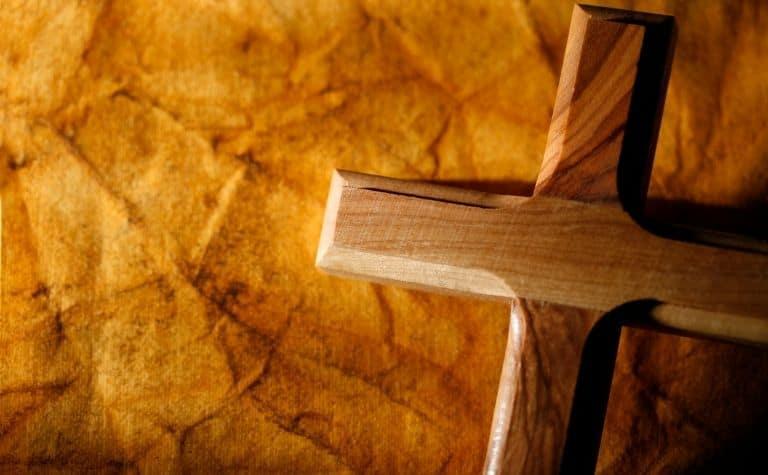 Protestant empty cross