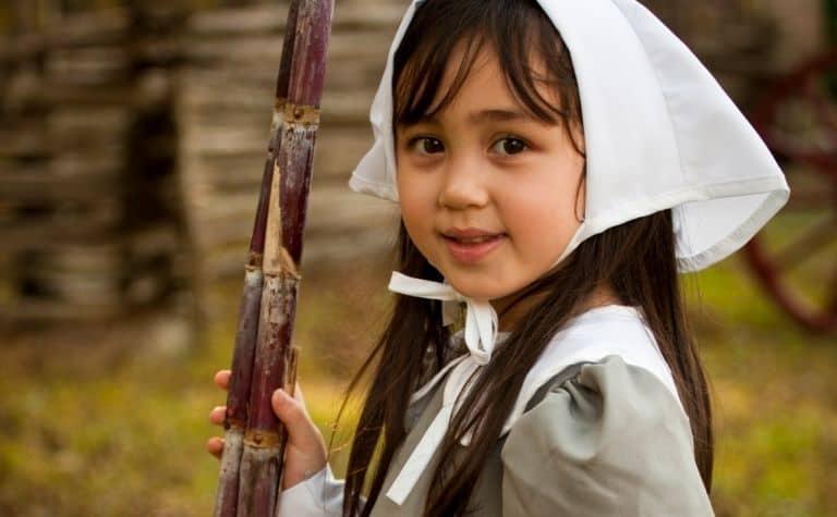 Protestant Puritan girl