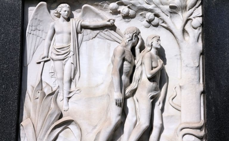 Adam and Eve expelled from Eden