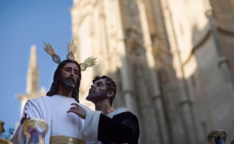 Judas Iscariot statue