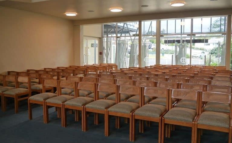 Pentecostal church sanctuary
